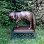 Geschmiedeter Fuchs von Eisl & Söhne – St. Wolfgang im Salzkammergut