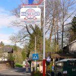 Masten mit Schild von Eisl & Söhne – St. Wolfgang im Salzkammergut