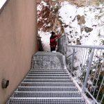 Stiege im Außenbereich von Eisl & Söhne – St. Wolfgang im Salzkammergut