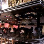 Geschmiedeter Ständer für Kirche – Spezialanfertigung von Eisl & Söhne – St. Wolfgang im Salzkammergut